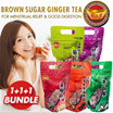 [1+1+1 BUNDLE] ★[Jin Man Tang] BESTSELLING BIGGER CUBE! TAIWAN Brown Sugar Ginger Tea/ Coral Seaweed