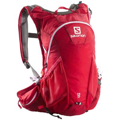 サロモン(SALOMON) アジャイル(AGILE2) 12 SET BRIGHT RED L37375200 【アウトドア スポーツ 鞄 バックパック バッグ】の画像
