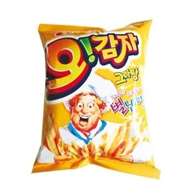 『ORION』オーガムジャ|ジャガイモスティック・グラタン味(50g)[オリオン][スナック][韓国お菓子][韓国食品]の画像
