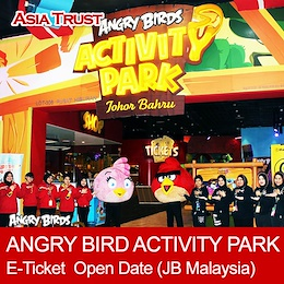 ANGRY BIRD ACTIVITY PARK - Open Tickets /  JB Malaysia / eTicket