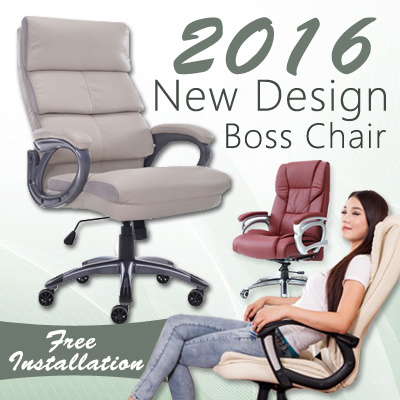 Qoo New Design Boss Chair fice Chair puter Chair Leather Chair Furniture Deco