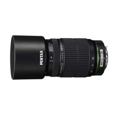 【クリックで詳細表示】ペンタックス【PENTAX】 DA55-300mmF4-5.8ED カメラレンズ フード、ケース付