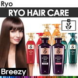 BREEZY ★ Korean No.1 Hair Care Brand [RYO] Hit Item Collection / Jayang / Hambit / Heuk-un / Cheong-ah / Jinsaengbo / Jasanghwacho / Shampoo / Conditioner / Amorepacific