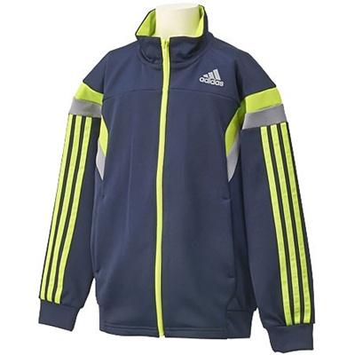 ◆即納◆アディダス(adidas) adidasbrave アディブレイブ ウォームアップジャケット DDZ20 F89806 【セール キッズ ジュニアトレーニングウェア ジャージ 男児】の画像