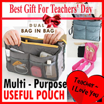 Teachers Day Gift Idea ★Bag in Bag★*Luggage Organizer★Travel Bag* Pouch* SHOE *Foldable ★ gift