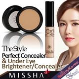 [MISSHA] The Style Perfect Concealer / Under Eye Brightener Concealer