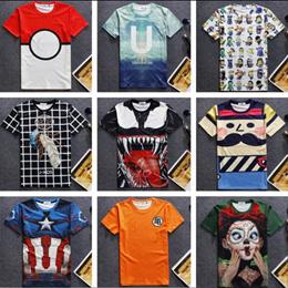 韓国ファッション 3D半袖Tシャツ 人気デザイン 欧米ヒップホップ ペアルック カップル シャツ カジュアル ミッキーシャツ 家族 恋人お揃いで
