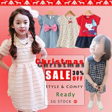 [Twinkle+Kids] 18th DEC NEW ❤Party Dress/School Dress/Korean design/Baby/Child/Infant/Toddler/Kids/1-7 Years Old Children/