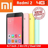 NEW Xiaomi Redmi 2 4G LTE / Hongmi 4.7 inch IPS Screen | Quad Core 1.2 64bit / Faster speed than previous one | Free Playstore Preload | 6 Months Local Warranty (Export Set)