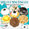 ICE LAB CAFE Take Out Mini Bingsoo / Many Flavors Available / Korean Bingsu / Only at Bugis