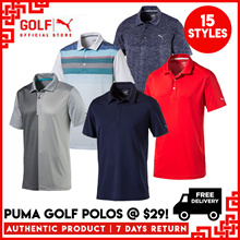 PUMA GOLF CNY SALE : Men Polo at $29 ★ FREE DELIVERY ★ AUTHENTIC ★ 7 DAY RETURNS