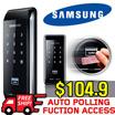 [Samsung] Smart Door Lock SHS-2920 /Silm Body-Glossy Design / Easy Installation / Smart Digital Door