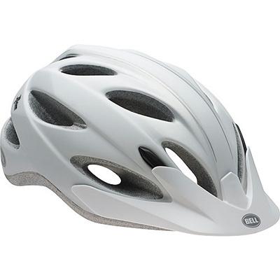 ベル(BELL) ヘルメット PISTON / ピストン ACTIVE マットホワイト/シルバーオンブル UA/54-61cm 【自転車 サイクル レース 安全 二輪】の画像