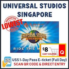 ★QOO10 LOWEST PRICE+$8COUPON★Universal Studios Singapore Admission ticket  / USS E-ticket /uss