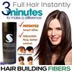 ✶USA No.1 Toppik alternative✶ SAMSON Hair Loss Fiber/Concealer 25g. Refill pack/bottle/hair fiber sprayer.  MADE IN USA not China! Tested safe Hair makeup for men and women.