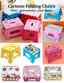 ♥ Hello Kitty/ Doraemon/ Melody/ Twin Star Folding Chair ♥ Car Portable Chair ♥ Picnic/ Beach Chair