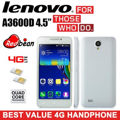 buy best value 4g handphone lenovo a3600d 4 5inch quad