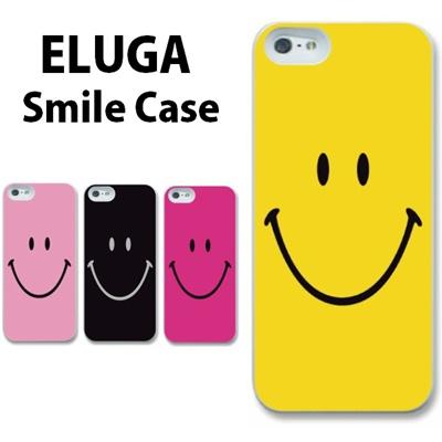 特殊印刷/ELUGA P(P-03E)X(P-02E)(スマイリー)CCC-015【スマホケース/ハードケース/カバー/エルーガ/eluga/p02e】の画像