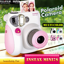 【Fujifilm】 Instax Polaroid Camera ♣ Instax Mini 7s ♣ Honey Pink  Panda Special ♣ Colorful style