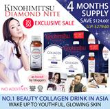 [BACK BY POPULAR DEMAND] Kinohimitsu Collagen Diamond Nite 32s + 32s BUY 1 FREE 1 [4 MONTHS SUPPLY]