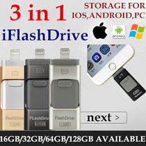 DM Brand OTG Best Selling!FREE QXPRESS for 64gb 128gb! 128/64/32GB For IOS/PC* iFlashdrive iFlash Drive HD OTG USB Drive thumb drive smartphone i-Flash Drive/Lightning Apple/iphone6/6s/6 plus/ipad