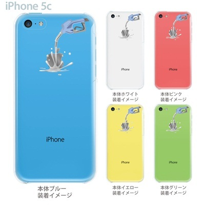 【iPhone5c】【iPhone5c ケース】【iPhone5c カバー】【ケース】【カバー】【スマホケース】【クリアケース】【クリアーアーツ】【アップルにガソリン】 06-ip5cp-ca0030の画像