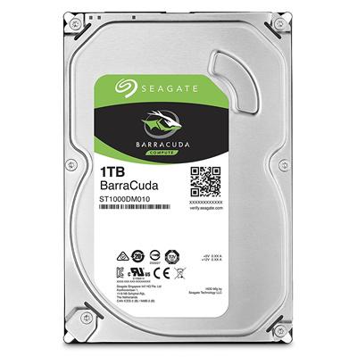 全国一律送料無料メカ保証2年SEAGATEBarraCuda内蔵ハドディスク3.5インチ1TB安全に茶箱で個別梱包してますST1000DM010