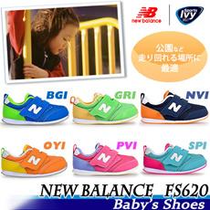 【ニューバランス】キッズ FS620 BGI/GRI/NVI/OYI/PVI/SPI NEW BALANCE【15Summer新作!!】   キッズ シューズ カジュアル スニーカー セール