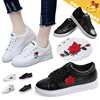 ◆Stylish Embroidery Sneakers for Women◆Daily Fashion Shoes/ Slip-on shoes/ 2 styles/ 35~40 sizes