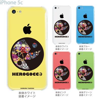 【iPhone5c】【iPhone5cケース】【iPhone5cカバー】【iPhone ケース】【クリア カバー】【スマホケース】【クリアケース】【イラスト】【クリアーアーツ】【HEROGOCCO】 29-ip5c-nt0020の画像