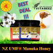 ★CHEAPER THAN MOST SELLERS OVER 40% OFF★New Zealand Manuka Honey UMF® 5+ /UMF6+ /UMF10+ (500g)★