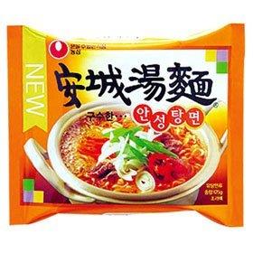 【韓国食品・韓国ラーメン】 ■韓国の安城湯麺ラーメン(辛さ2)■の画像