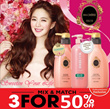 🌟3 For 50% off🌟 XMAS SALE! 3x 500ml [Mix and Match] Ma Cherie [Shiseido] Award Winning Hair care Ma Cherie Moisture/Air Feel Shampoo /Conditioner 500ml