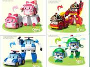 ROBOCAR POLI TRANSFORMER ROBOT CAR (AMBER / POLI / ROY / HELLY) 4 items 1 shipping fee .