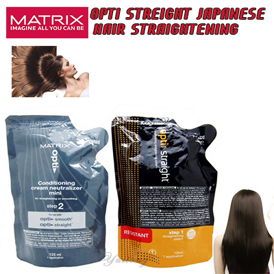 Qoo10 Matrix Opti Straight Japanese Hair Straightening