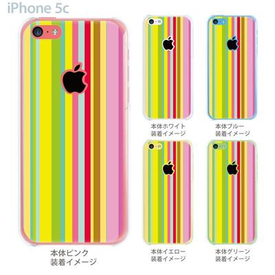 【iPhone5c】【iPhone5c ケース】【iPhone5c カバー】【ケース】【カバー】【スマホケース】【クリアケース】【チェック・ボーダー・ドット】【カラーライン】 06-ip5cp-ca0085の画像