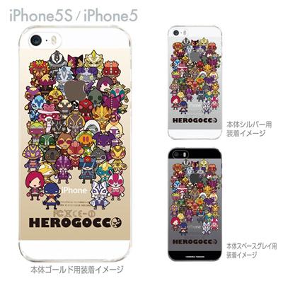 【iPhone5S】【iPhone5】【HEROGOCCO】【キャラクター】【ヒーロー】【Clear Arts】【iPhone5ケース】【カバー】【スマホケース】【クリアケース】【おしゃれ】【デザイン】 29-ip5s-nt0084の画像