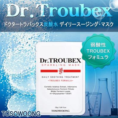 [TOSOWOONG]ドクタートラバックス炭酸水 デイリースージング・マスク/高濃縮エッセンス含有/弱酸性/韓国コスメの画像