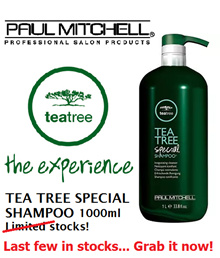 [Best Selling!!!] Paul Mitchell Tea Tree Shampoo/Conditioner (1000ml)
