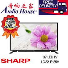 SHARP 32INCH LED TV LC-32LE185M ***3 YR SHARP WARRANTY***