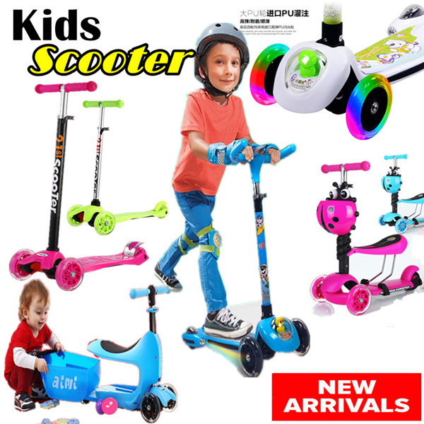 new arrival 34 wheels kids scooter kid scooterskate scooter - Colour Kid