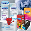 [RB] 【GET IT ON!】DUREX CONDOM - Condoms Pleasure Gels and Vibrator Rings for Better Foreplay and Skin-on-Skin Sensations | Lubricants Lubes Stimulators Rubbers