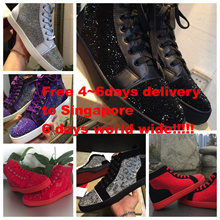 Stunning fashion sneaker Cloaked in smooth suede or leather and stunning hand-laid Swarovski crystals