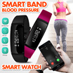 Smart Band blood pressure watch V07 Smart Bracelet Watch Heart Rate Monitor SmartBand Wireless Fitne
