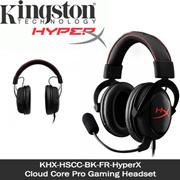 KINGSTON HYPER X / KHX-HSCC-BK-FR-HyperX / Cloud Core Pro Gaming Headset. Compatible w PCs, PS4, Xbox1, Mobile Devices. Superior Audio same Specs as Hyper X Cloud. Local Warranty