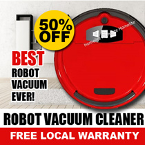 ♛ [GSS SALE JUNE 2016 ]★ Robot Vacuum (Best Selling) ★ [SAFETY MARKS LOGO] ★ READY STOCK ★ Next Day Delivery ★ Mopping ★ N0 FRILLS JUST SAVE MORE