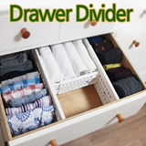★Drawer Divider★drawer compartment/ closet partition/ glove compartment clean / remove the drawer Divider