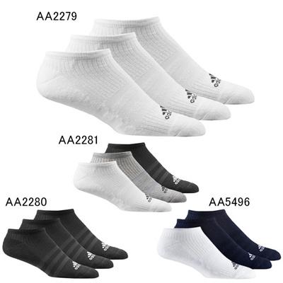 アディダス (adidas) 3S パフォーマンス 3Pアンクルソックス KAW66 [分類:スポーツ ソックス (ユニセックス)]の画像