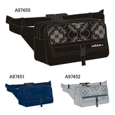 アディダス (adidas) ST 和柄 ボディバッグ M KBX24 [分類:ウエストバッグ]の画像