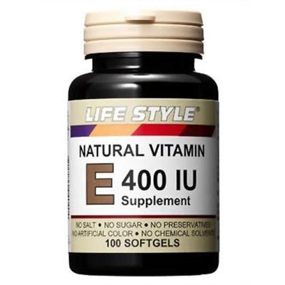 ライフスタイル(LIFE STYLE) ビタミンE 400IU 100粒 【健康サプリメント】の画像